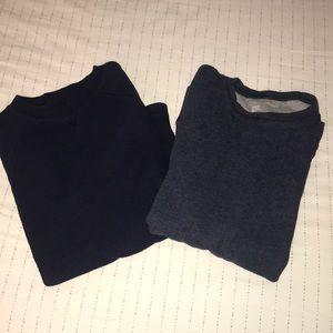 Boys thermal long sleeve shirts sz 10